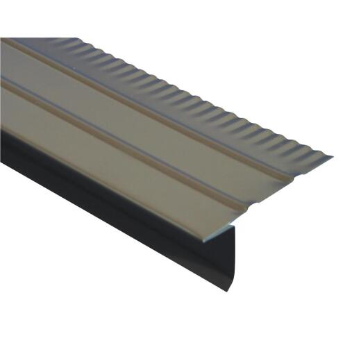 Amerimax F4-1/2 Aluminum Drip Edge Flashing, Brown