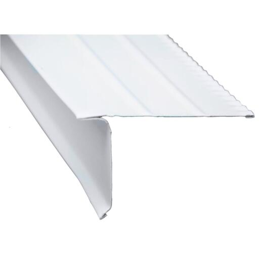 Amerimax F5M Aluminum Drip Edge Flashing, White