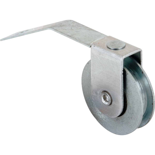 Prime-Line 1 In. x 5/16 In. Center Groove V-Spring Tension Steel Screen Door Roller Assembly (2-Count)