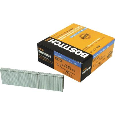 Bostitch 18-Gauge 5/16 In. x 1-1/2 In. Pneumatic Cap Staples (3000 Ct.)