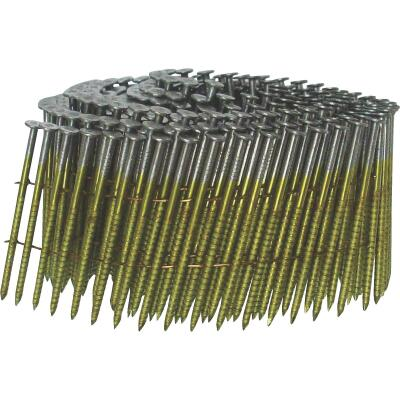 Grip-Rite 15 Degree Wire Weld Hot-Dipped Galvanized Coil Siding Nail, 2-3/16 In. x .092 In. (2400 Ct.)