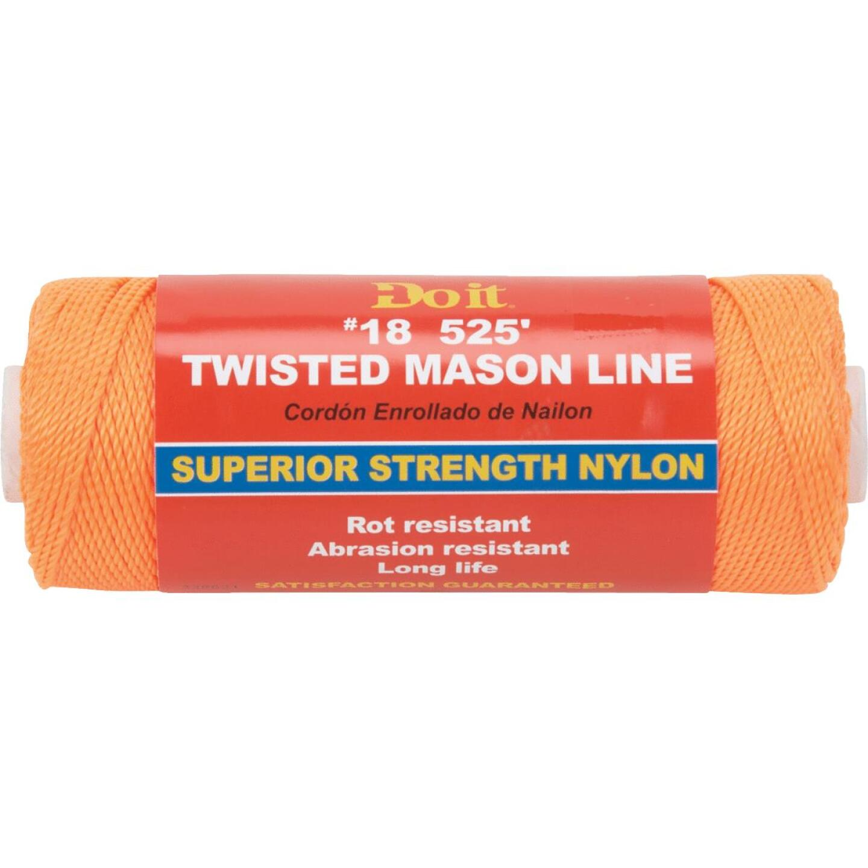 Do it 525 Ft. Fluorescent Orange Twisted Nylon Mason Line Image 1