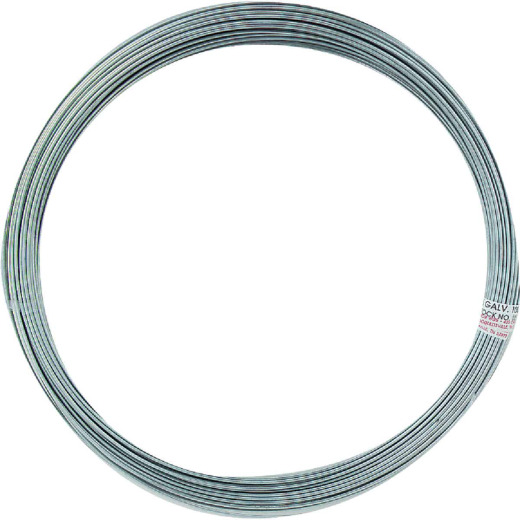 HILLMAN Anchor Wire 100 Ft. 16 Ga. Bulk General-Purpose Wire