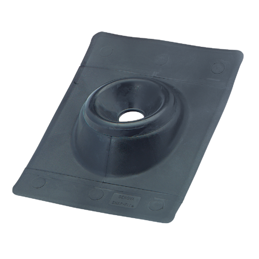 Genova Snap-Fit 2 In. Thermoplastic Roof Pipe Flashing