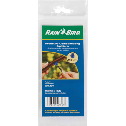 Rain Bird 1/2 GPH Button Dripper Emitter (10-Pack)