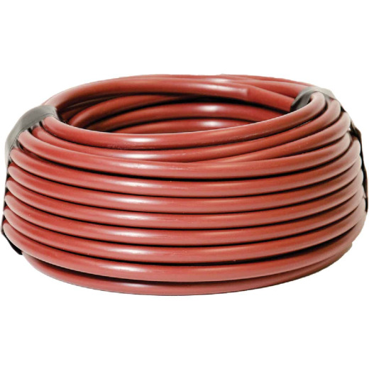 Raindrip 1/4 In. X 50 Ft. Redwood Poly Primary Drip Tubing