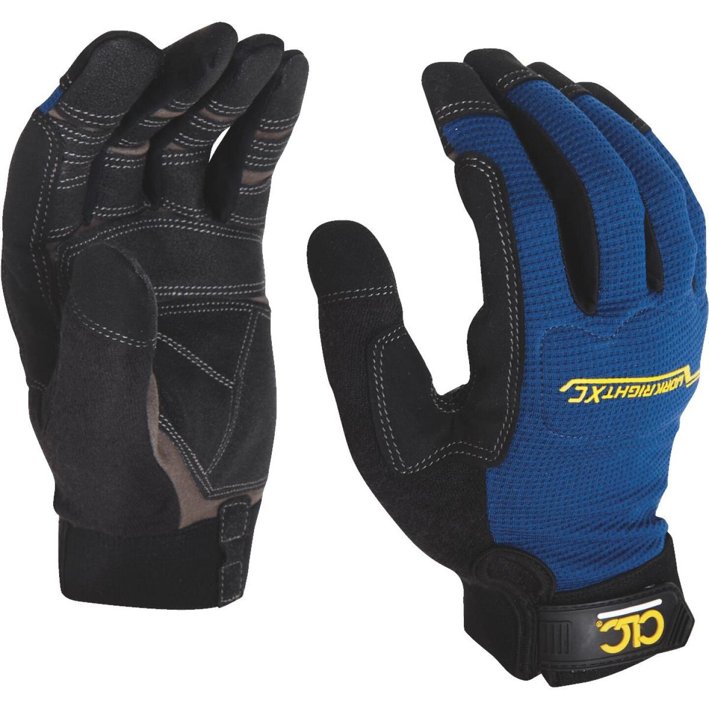 CLC Workright XC Men's Large Synthetic Leather Flex Grip High Performance Glove Image 3
