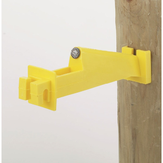 Dare Nail-On Yellow Polyethylene Electric Fence Insulator (15-Pack)