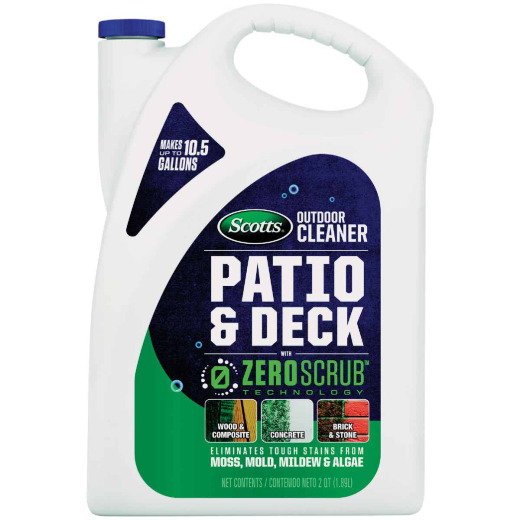 Scotts ZeroScrub 1/2 Gal. Concentrate Patio & Deck Outdoor Cleaner