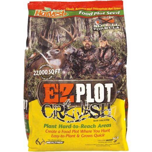Evolved Harvest EZPlot 10 Lb. 22,000 Sq. Ft. Coverage Tetraploid Forage Ryegrass Forage Seed