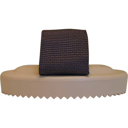 Decker Palm Brush Flexible Plastic Curry Comb