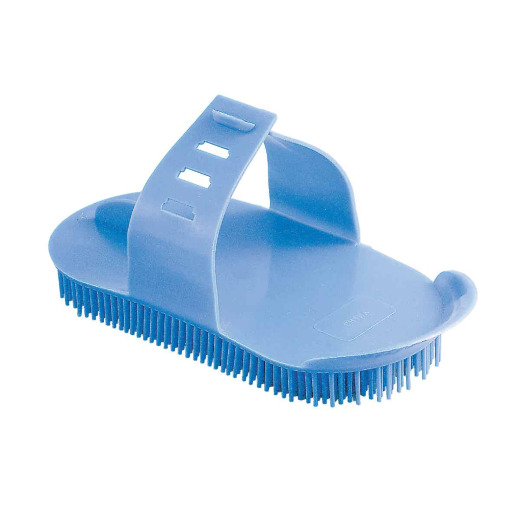 Decker Palm Brush Plastic Massage Curry Comb