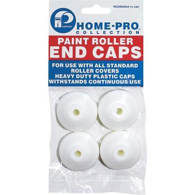 Premier Home-Pro 1-1/2 In. Plastic Paint Roller End Caps (4-Pack)