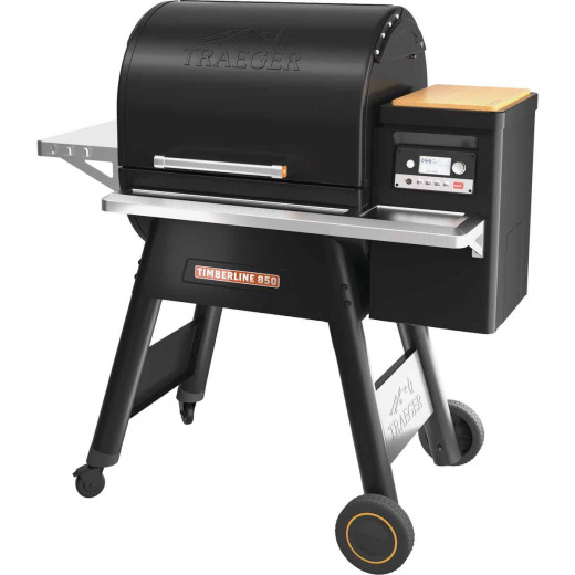 Traeger Timberline 850 Black 18,000 BTU 869 Sq. In. Wood Pellet Grill