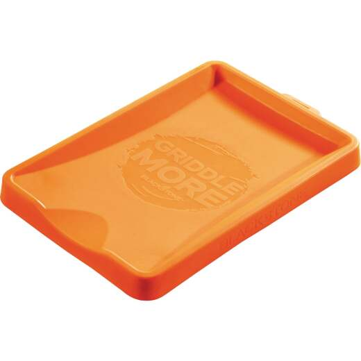 Blackstone 10-3/4 In. W. x 7 In. L. Orange Silicone Spatula Mat