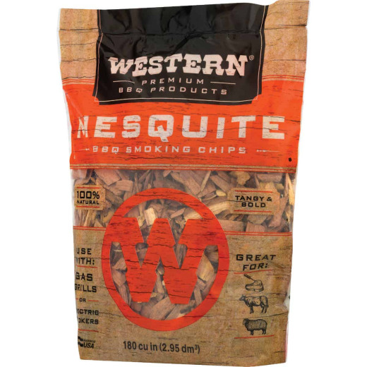 Western 2 Lb. Mesquite Wood Smoking Chips